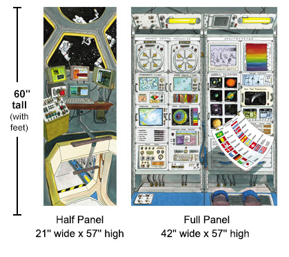 Space Station panels